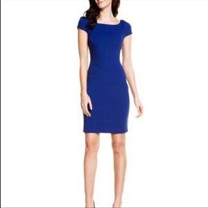 Diane Von Furstenberg Helen Dress in Blue Jay